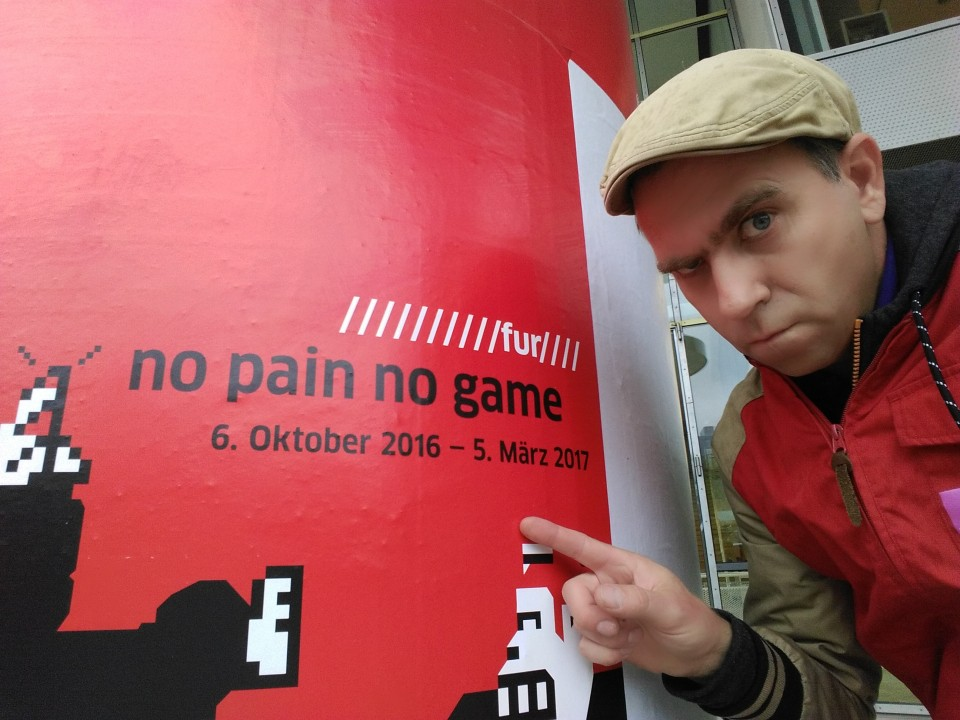 No Pain No Game Vernissage Frankfurt - As Seen on TV